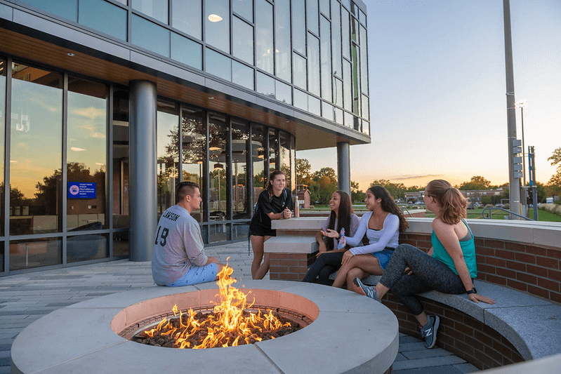 Fire Pit at the Bowers Center