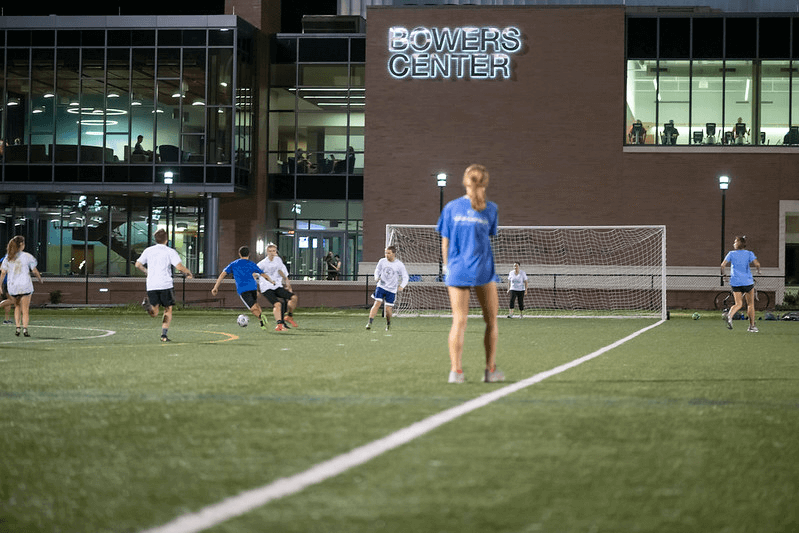 Intramural Soccer at the Bowers Center