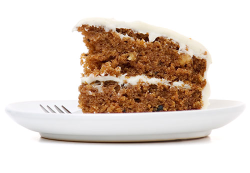 carrot cake is a big deal on campus