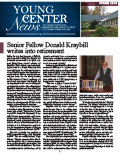 Young Center News - Spring 2015 PDF