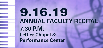 Annual Faculty Recital