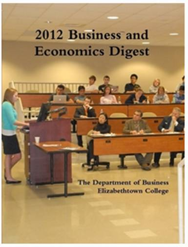 cover of 202010 business and economics digest with picture of Hoover center in fall