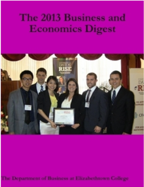 cover of business and economics digest with picture of RISE13