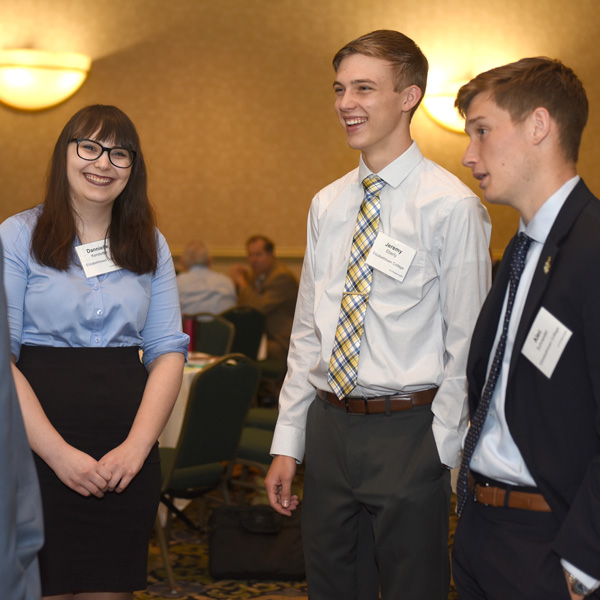Students attended the Central Penn Business Journal's Banking and Finance symposium.