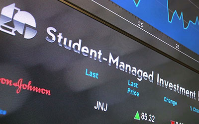Student Investment Ticker