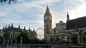 big ben and other building in london