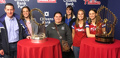 Math Club at the Phillies College Business Intelligence night