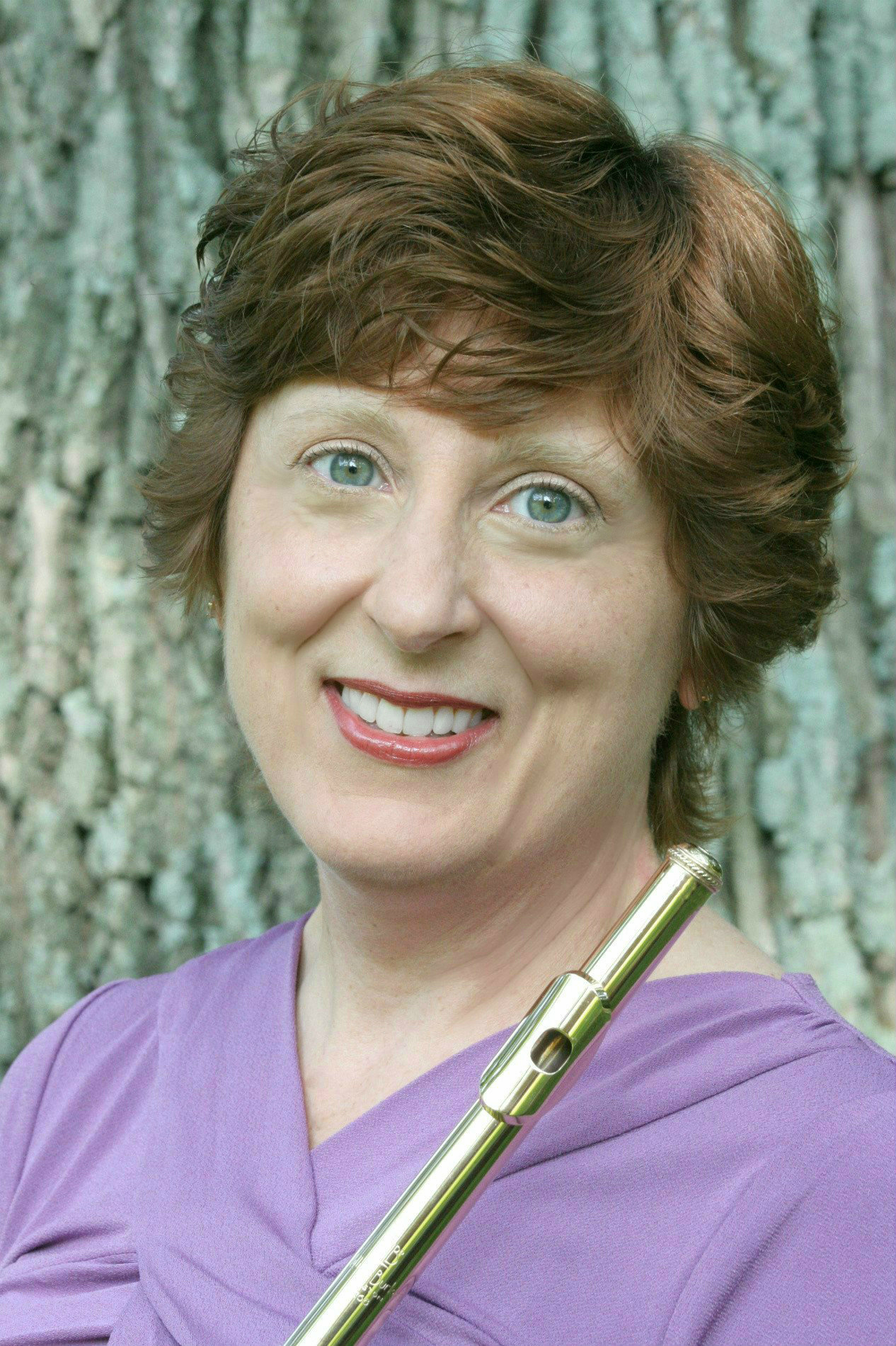 paula nelson with flute