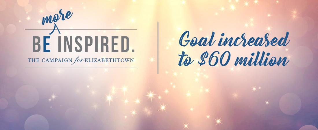 Campaign goal, initially set at $50 million, has been achieved!