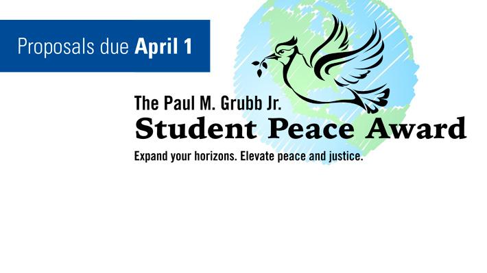 $2,000 to spread peace and justice