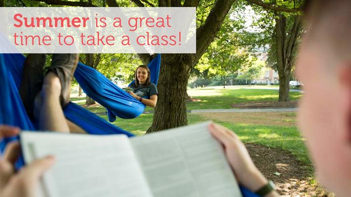 Register for May Term and Online Summer Session