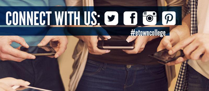 Connect with #etowncollge