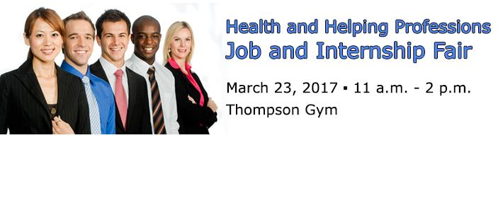 Health and Helping Professions Fair