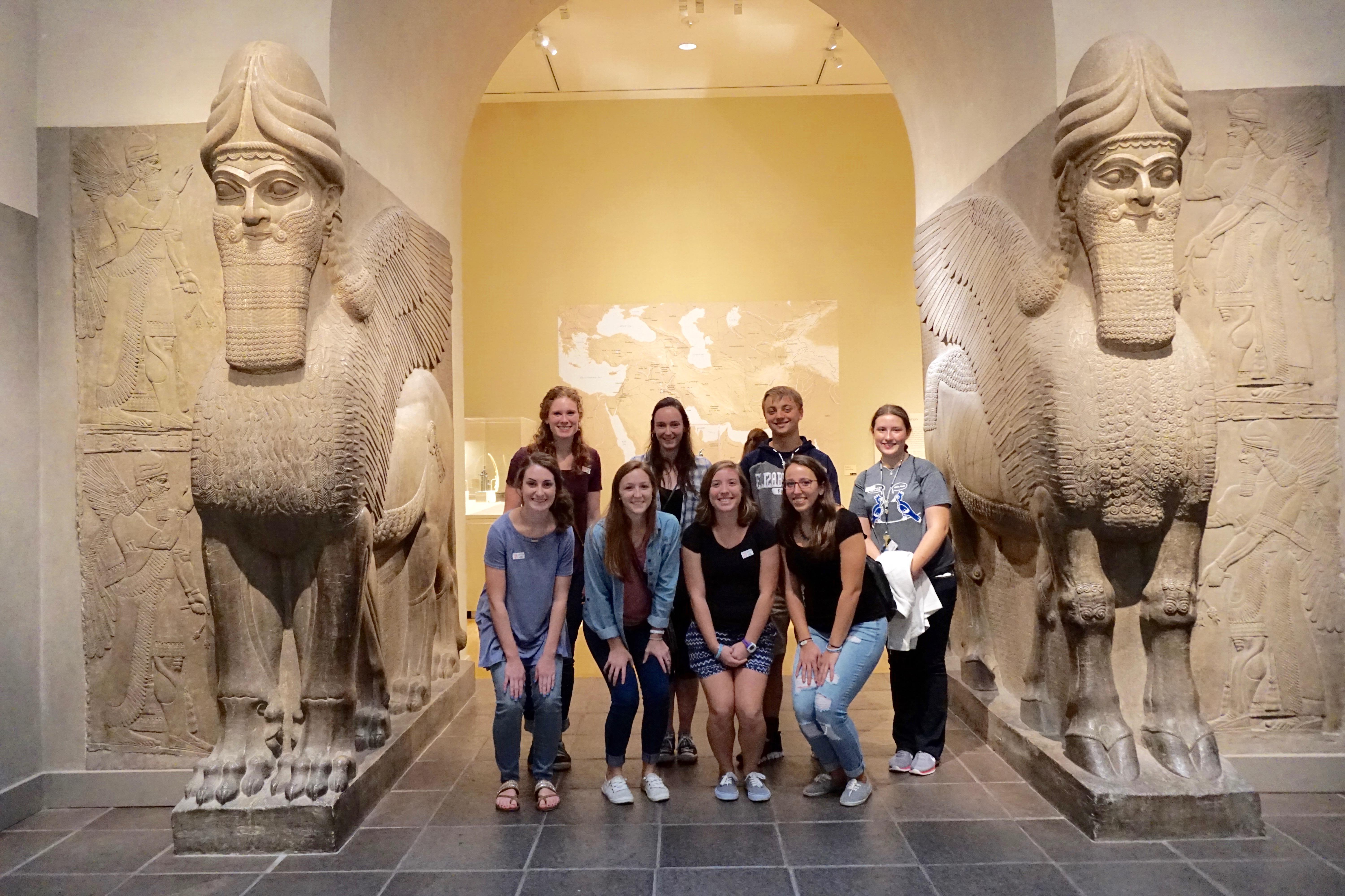 Students with Lamassu