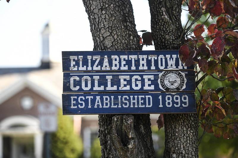 Elizabethtown college established 1899 sign