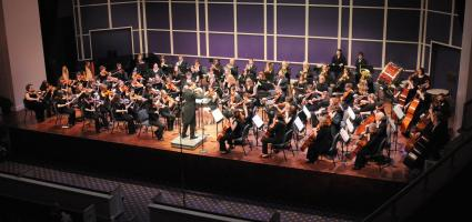 College-Community Orchestra honored