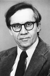 portrait of donald f. durnbaugh wearing glasses