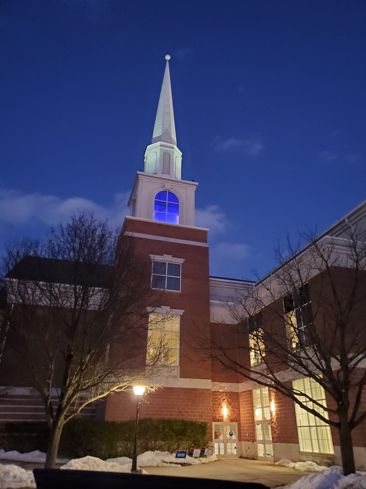 Leffler Chapel Steeple lights