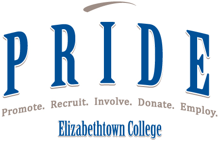 PRIDE LOGO with promote recruit involve donate and employ spelled out beneath