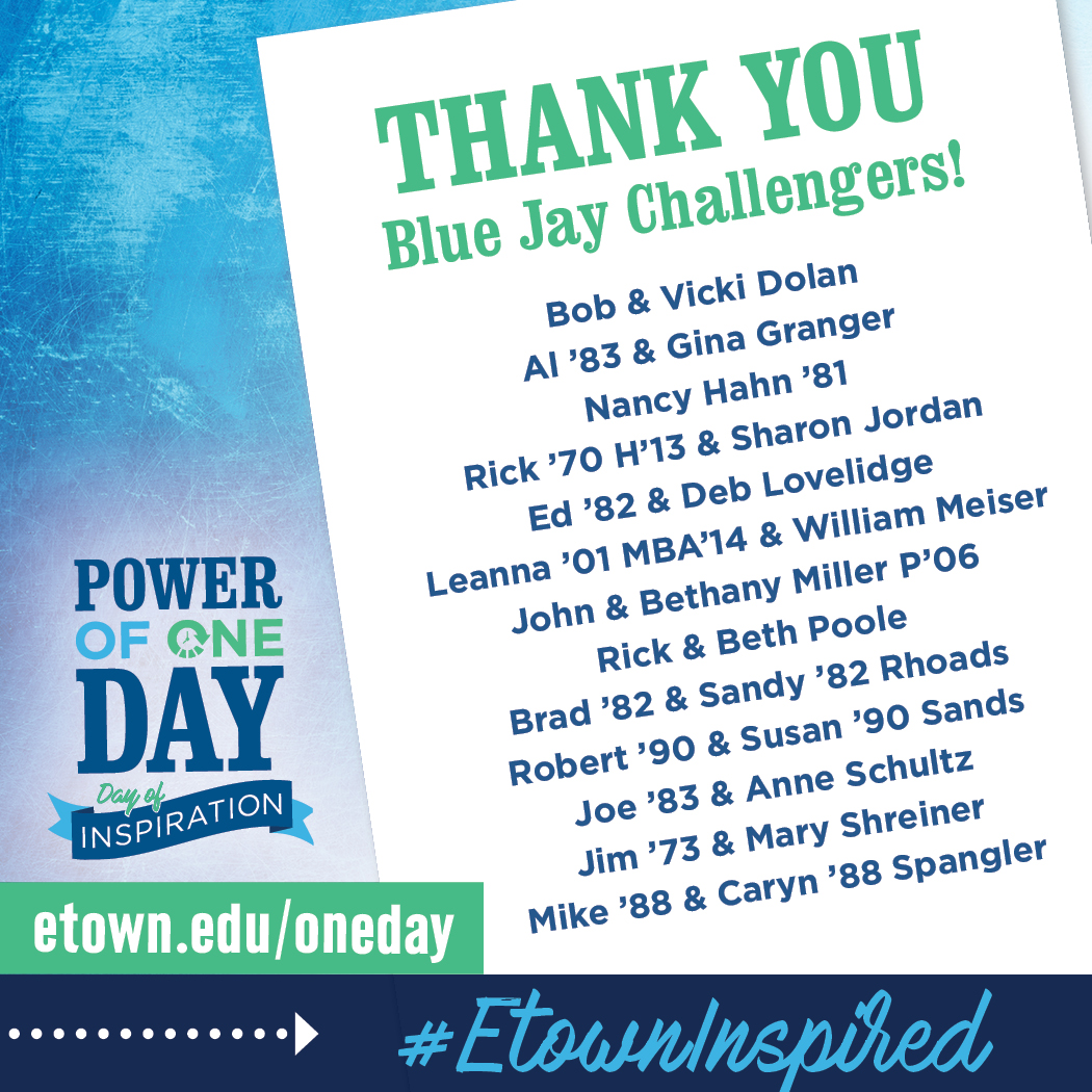 Thank you blue jay challengers