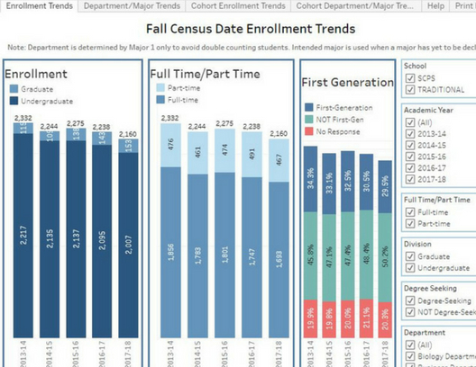 Icon Enrollment Trends