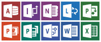 Office 2013 Program Icons