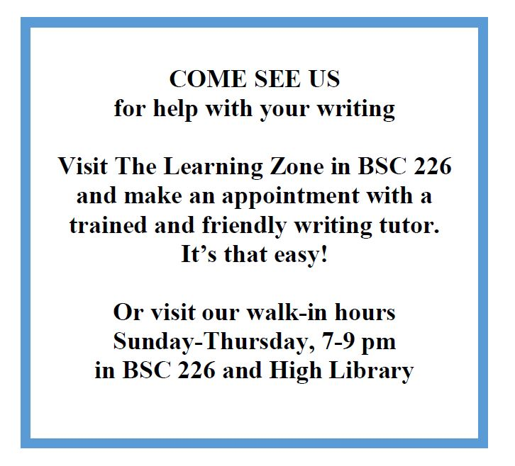 writing tutor promo