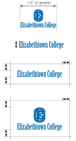 Elizabethtown College Logo Clear Area