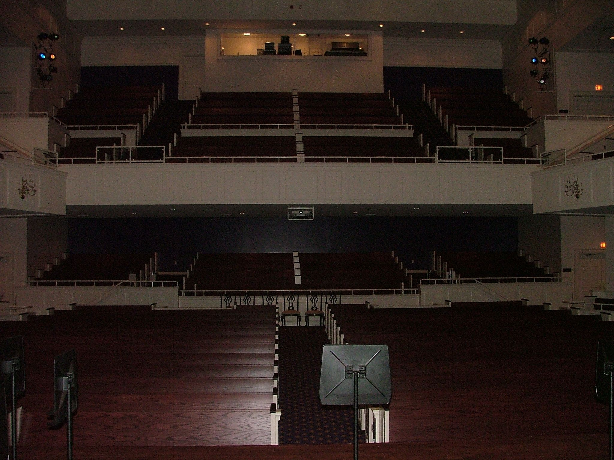 Musser Auditorium from the Stage