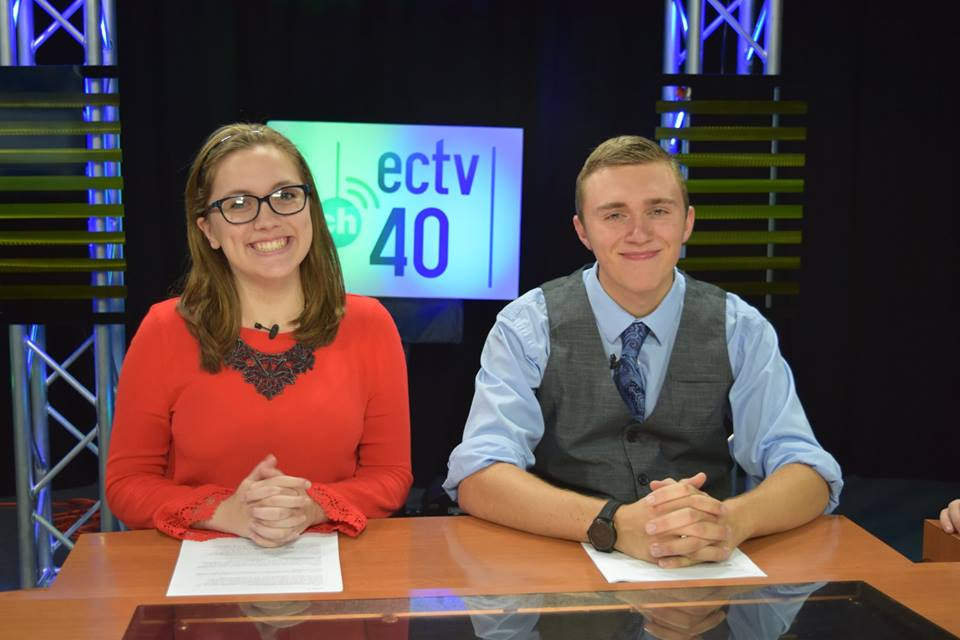 ECTV College News Anchors
