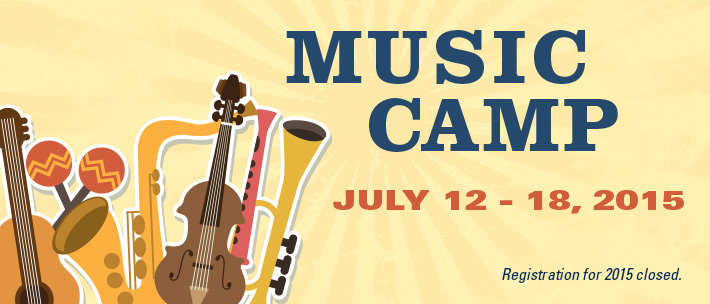 Summer Music Camp - Registration closed