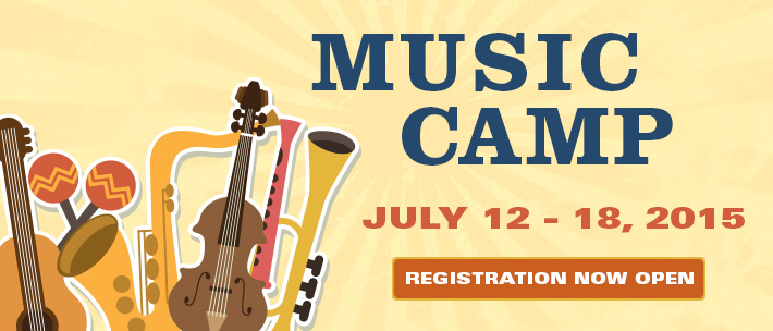 Summer Music Camp - Registration now open