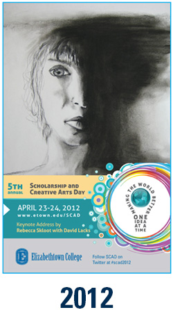 2012 cover of scholarships and creative arts day program