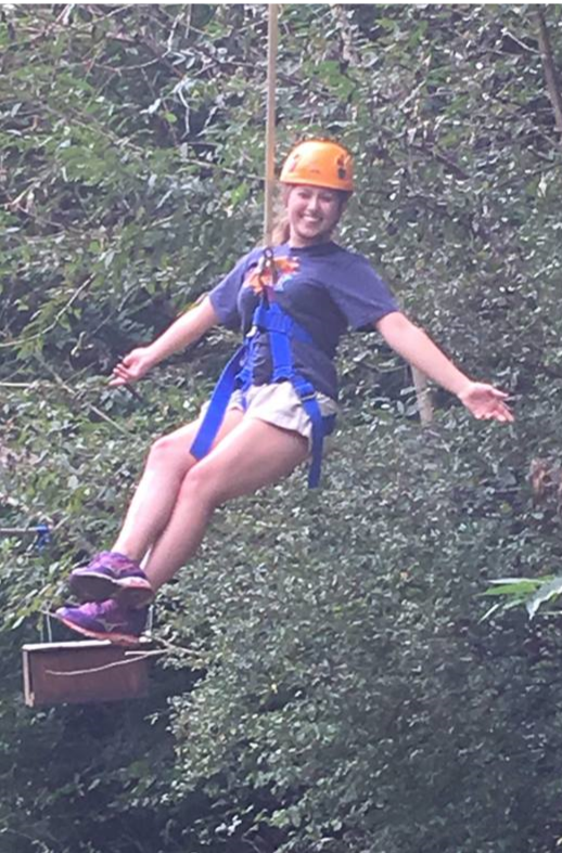 Elizabeth LePore high ropes