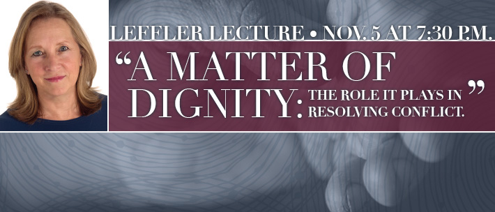 Leffler Lecture, Dr. Hicks Speaks on Dignity