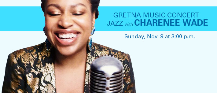 Charenee Wade sings Jazz