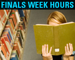 High Library Finals Week Hours